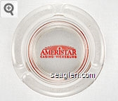 Ameristar Casino - Vicksburg - Red imprint Glass Ashtray