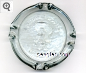 Arizona Charlie, Las Vegas - Molded imprint Glass Ashtray