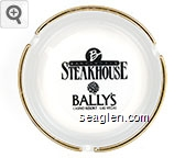 Barrymore's Steakhouse, Bally's, Casino Resort Las Vegas - Black imprint Ceramic Ashtray