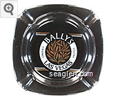 Bally's Casino Hotel, Las Vegas - White and gold imprint Porcelain Ashtray