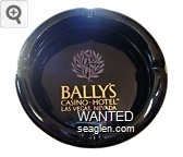 Bally's Casino - Hotel, Las Vegas, Nevada - Gold imprint Ceramic Ashtray