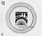 Biloxi Belle Casino - Black imprint Glass Ashtray