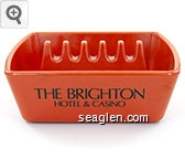 The Brighton Hotel & Casino - Black imprint Bakelite Ashtray
