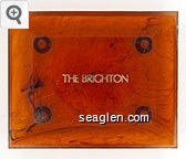 The Brighton - Gold imprint Plastic Ashtray