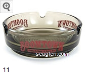 Boomtown Casino & Hotel * Reno, NV - Red imprint Glass Ashtray