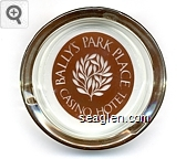 Bally's Park Place Casino Hotel, Atlantic City - Clear through brown imprint Glass Ashtray