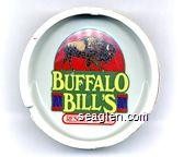 Buffalo Bill's, Resort - Casino - Multicolor imprint Porcelain Ashtray