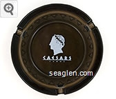 Caesars, Tahoe - Gold imprint Glass Ashtray