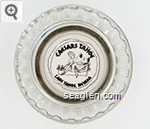 Caesars Tahoe, Lake Tahoe, Nevada - Brown imprint Glass Ashtray