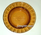 Colorado Belle Hotel & Casino - Molded imprint Glass Ashtray