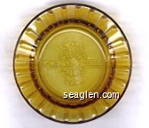Colorado Belle, Hotel and Casino, Laughlin, Nevada - Molded imprint Glass Ashtray