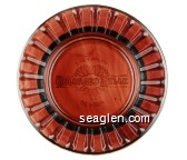Colorado Belle, Hotel & Casino, Laughlin, Nevada - Molded imprint Glass Ashtray