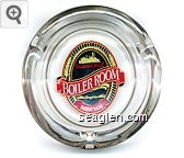 Colorado Belle, Boiler Room, Laughlin, Brew Pub - Red, black and yellow imprint Porcelain Ashtray