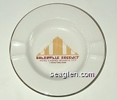 Caesars - Boardwalk - Regency Casino - Multicolor imprint Porcelain Ashtray