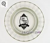 Circus Circus, Reno - Black imprint Glass Ashtray