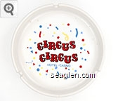Circus Circus,  Hotel/Casino, KSA 87 - Multicolor imprint Porcelain Ashtray