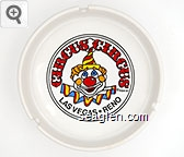 Circus Circus, Las Vegas * Reno, KSA '87 - Multicolor imprint Porcelain Ashtray