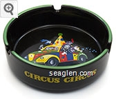 Circus Circus, Las Vegas - Yellow imprint Porcelain Ashtray