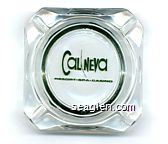 Cal-Neva, Resort - Spa - Casino - Green imprint Glass Ashtray