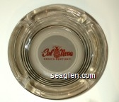 Club Cal Neva, Reno's Best Bet! - Red on white imprint Glass Ashtray