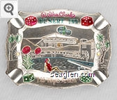 Wilber Clark's Desert Inn, Las Vegas, Nevada - Multicolor imprint Metal Ashtray