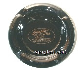 Sinatra's 77th at the Stars' Desert Inn, Las Vegas - Dec. 12, 1992 - Gold imprint Glass Ashtray