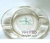 Desert Inn, Las Vegas, Nevada - Green imprint Glass Ashtray