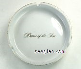 Dome of the Sea - Gold imprint Porcelain Ashtray