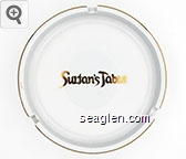 Sultan's Table - Gold imprint Porcelain Ashtray