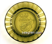 Laughlin Nevada, Edgewater Hotel & Casino - Molded imprint Glass Ashtray