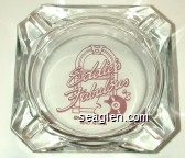 Eddie's Fabulous 50's Casino & Diner, Reno, Nevada - Violet imprint Glass Ashtray