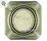 Eldorado Hotel - Casino, Downtown Reno - Molded imprint Glass Ashtray