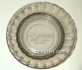 Excalibur Hotel/Casino, Las Vegas - Molded imprint Glass Ashtray