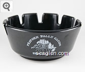 Feather Falls Casino, Oroville, CA - White imprint Plastic Ashtray