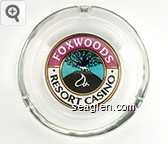 Foxwoods Resort Casino - Multicolor imprint Glass Ashtray