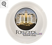 Foxwoods, Resort - Casino - Black imprint Porcelain Ashtray