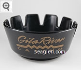 Gila River Casino - Gold imprint Plastic Ashtray