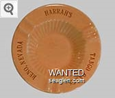 Harrah's, Heart Tango, Reno, Nevada - Gold imprint Porcelain Ashtray