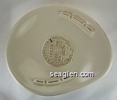 Harrah's, Lake Tahoe Nevada, South Shore Room, New Year's Eve, 1965 - Gold imprint Porcelain Ashtray
