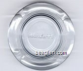 Harveys - Molded imprint Glass Ashtray