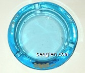 Tom Moore's, Holiday Hotel, Reno - Yellow imprint Glass Ashtray