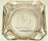 Imperial Palace - Molded imprint Glass Ashtray