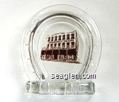 Longbranch Saloon - Brown imprint Glass Ashtray