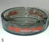 Mother Lode Hotel, Mother Lode Casino, Carson City's Finest - Red imprint Glass Ashtray