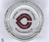 Nevada Crossing, Wendover U.S.A. - Brown imprint Glass Ashtray
