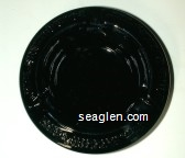 Four Queens, Las Vegas, Nevada - Molded imprint Glass Ashtray