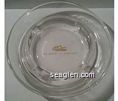 The Resort at Summerlin - Yellow imprint Glass Ashtray