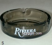 Riviera Las Vegas, Splash …An Aquacade of Music & Dance, An Evening at La Cage - White imprint Glass Ashtray