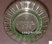 Virgin River, Hotel/Casino/Bingo, Sportsbook 1-800-346-7721 - Molded imprint Glass Ashtray