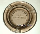 Virgin River Hotel/Casino, Bingo - Molded imprint Glass Ashtray
